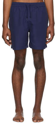 Carhartt Work In Progress Blue Chase Swim Shorts