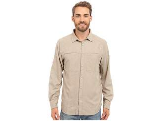 The North Face Long Sleeve Traverse Shirt (Dune Beige Heather