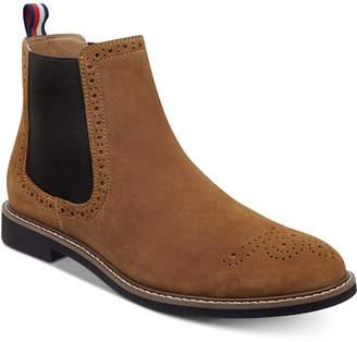 Tommy Hilfiger Men's Gainer Suede Chelsea Boots Men's Shoes