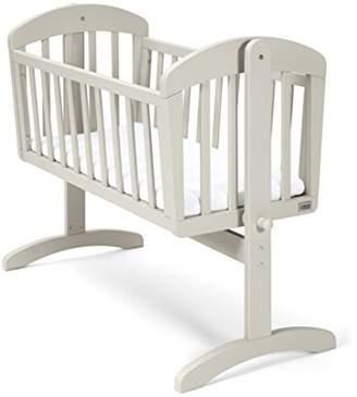 Mamas and Papas Breeze Crib, Grey, Nursery Furniture