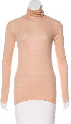 Lutz & Patmos Silk Turtleneck Top