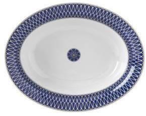 Bloomingdale's Royal Limoges Blue Star Open Vegetable Bowl