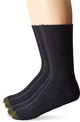 Gold Toe Men's Bonus Pack Fluffies Crew Socks
