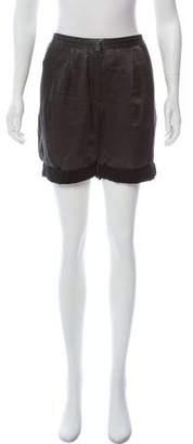 Acne Studios High-Rise Mini Shorts