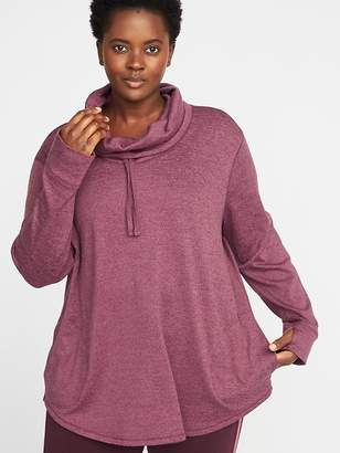Old Navy Funnel-Neck Plus-Size Performance Pullover