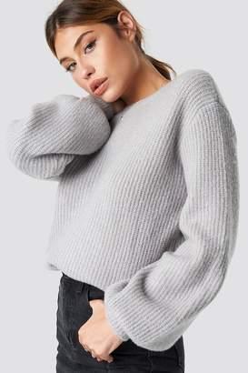 Linn Ahlborg X Na Kd Deep V Back Sweater