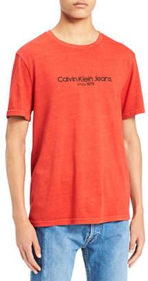 Calvin Klein Jeans Old School Logo Cotton Tee