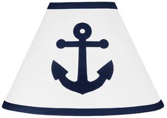 "JoJo Designs Sweet Anchors Away 7"" Cotton Empire Lamp Shade"