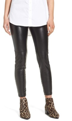 Women's Blanknyc High Waist Faux Leather Leggings $98 thestylecure.com