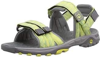 Jack Wolfskin Girls GIRLS BAHIA Sports & Outdoor Sandals Green Grün (lemonade 3073) (27 EU