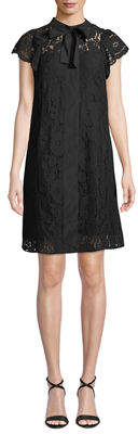 Nanette Lepore Nanette Lace Cap-Sleeve Shirtdress