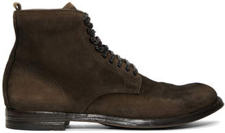 Officine Creative Brown Anatomia 013 Boots