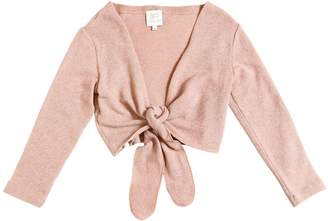 Blend of America Cropped Wool Knit Cardigan