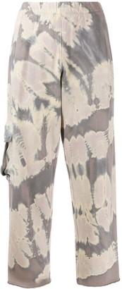 Raquel Allegra pocket fleece sweatpants