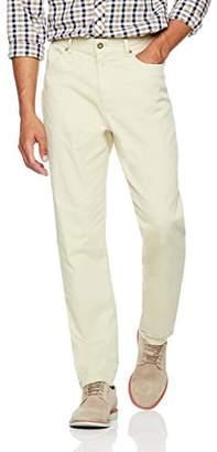 Wood Paper Company Men's Regular Fit 5-Pocket Comfort Stretch Lightweight Chino Pant