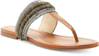 Jessica Simpson Kina T-Strap Thong Sandals Women's Shoes