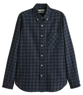 Mango Man MANGO MAN Regular-fit checked flannel shirt