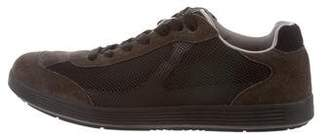 Prada Sport Mesh Low-Top Sneakers