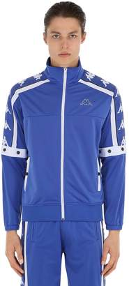 Kappa Track Jacket W/ Snap Button Sleeves