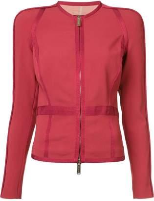 DSQUARED2 panelled zip jacket