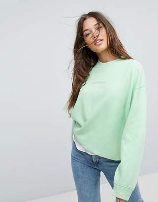 Calvin Klein Jeans Sweatshirt with Tonal Logo