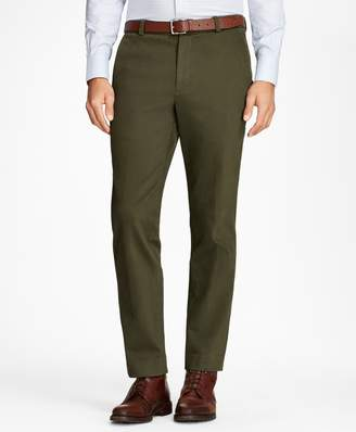 Brooks Brothers Clark Fit Brushed Twill with Stretch Chinos