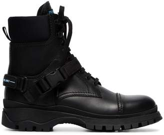 Prada lace-up combat boots