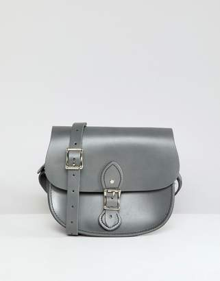 At Asos Leather Satchel Company The Single Buckle Small Saddle Bag