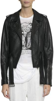 Ann Demeulemeester Leather Jacket