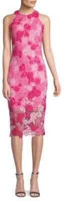 Alexia Admor Floral Lace Midi Dress