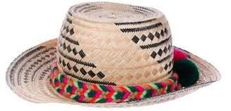 Yosuzi Straw Brimmed Hat
