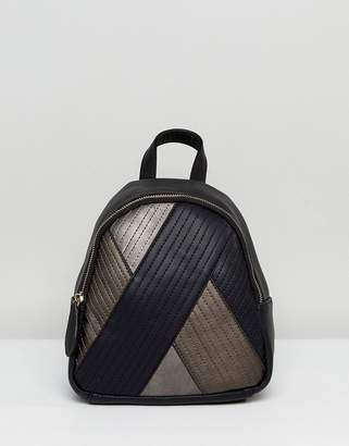 Lavand Quilt Mix Backpack