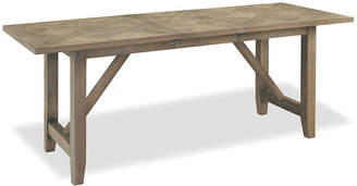 "One Kings Lane Brittney 78"" Dining Table - Weathered Oak"