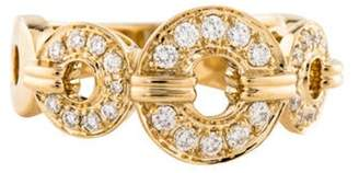 Di Modolo 18K Diamond Tempia Band yellow 18K Diamond Tempia Band