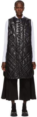 Noir Kei Ninomiya Moncler Genius 6 Moncler Black Long Schorl Vest