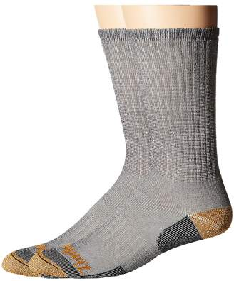 Timberland TM30873R Merino Wool Crew 2-Pack Men's Crew Cut Socks Shoes
