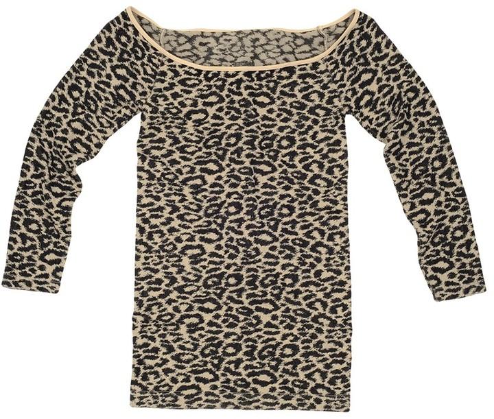 Tees by Tina Leopard 3/4 Sleeve