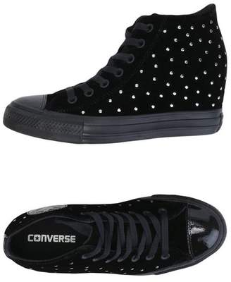 at yoox.com Converse CT AS MID LUX VELVET STUDS High-tops & sneakers