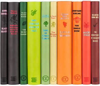 Set of 10 Revisit the Classics Book Collection - Juniper Books