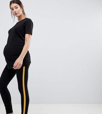New Look Maternity Side Stripe Legging