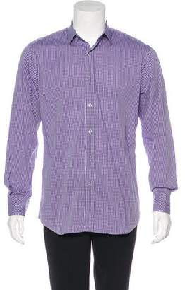 Paul Smith Woven Check Dress Shirt