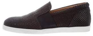 ATM Anthony Thomas Melillo ATM Embossed Leather Slip-On Sneakers