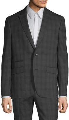 Kenneth Cole Reaction Slim-Fit Plaid Suit Jacket