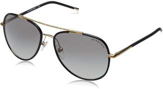 Burberry Men's Gradient BE3078J-114511-57 Oval Sunglasses