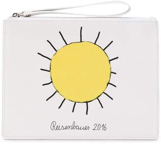 Christopher Kane printed sun clutch