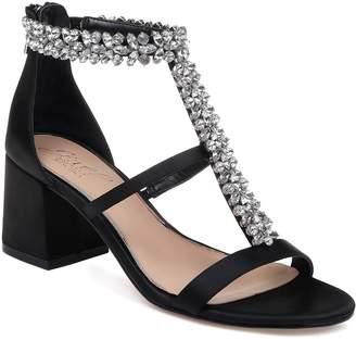 Badgley Mischka Janica Block Heel Sandal