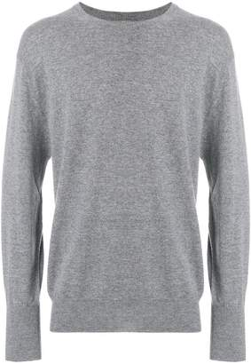 N.Peal Oxford 1ply sweater