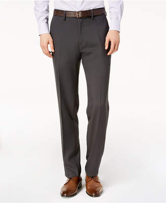 Kenneth Cole Reaction Men's Slim-Fit Micro-Check Dress Pants