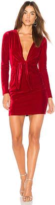 MinkPink Midnight Hour Velvet Dress