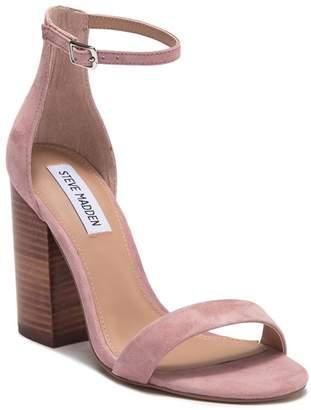 d6bd02b77f Steve Madden Pink Heel Strap Women's Sandals - ShopStyle